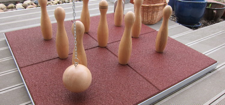 Dřevěné kuželky